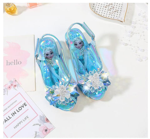 Princess Party Shoes Shoes - Glitter Crystals Rhinestones