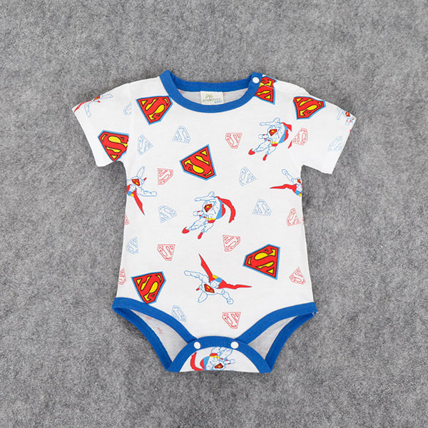 Baby Summer Romper - Cartoon Themed