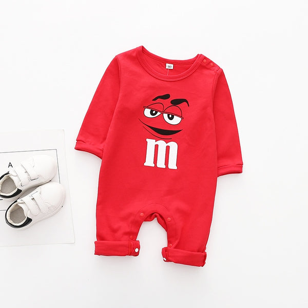 M&M and Cartoon Romper