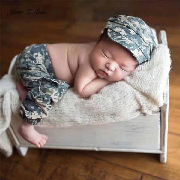 Army Military Uniform Baby Studio Shooting accessories