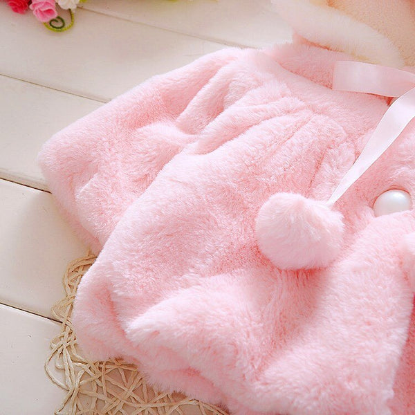 Rabbit Coat - Newborn Baby Girl