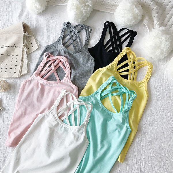 Candy Coloured Tank Tops