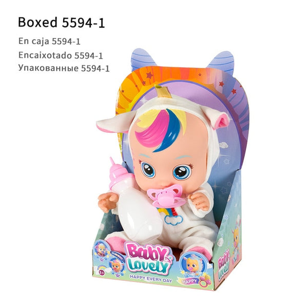 Interactive Crying Baby Doll