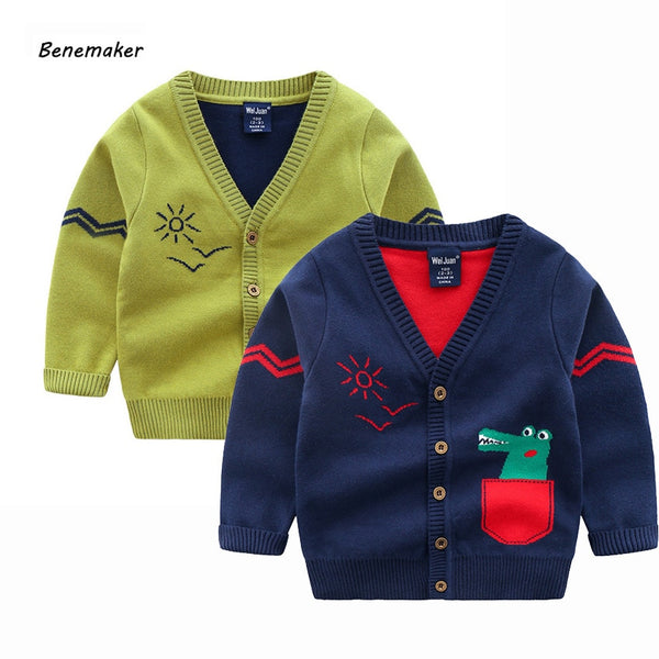 Cartoon Sweater Cardigan
