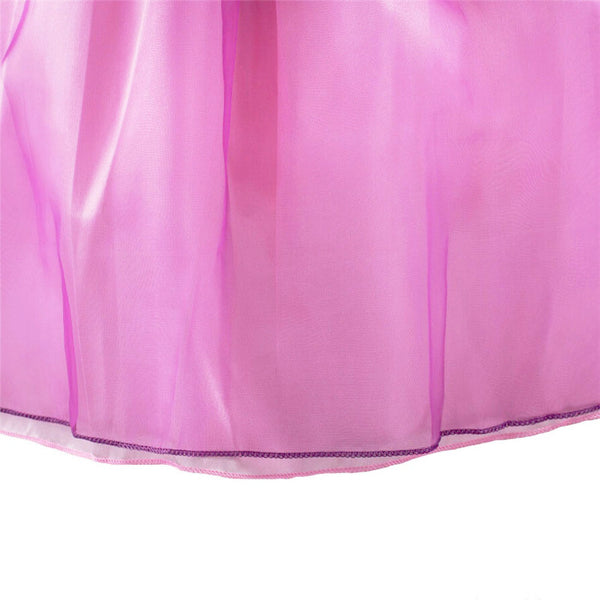 Rapunzel Princess Dress - Costume With Wig