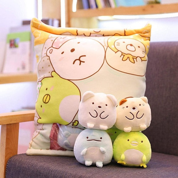Totoro Corner Creature a Bag Of Snack -animal crossing stuffed animals