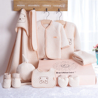 Newborn Baby Girl Boy Organic Cotton 8 Pieces Infant Clothing Set