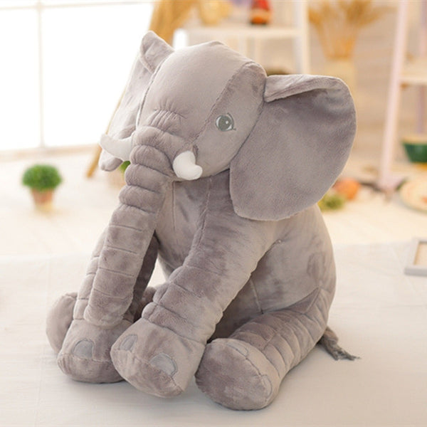 Cute Stuffed Soft Elephant Pillow Baby Sleep Toys for Baby Girls & Boys (40 cm)