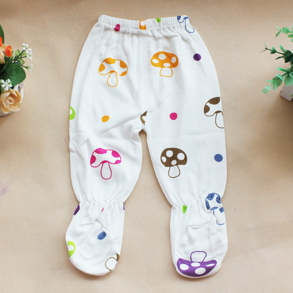 Newborn Baby Girl Boy 5 Pieces Colorful Mushrooms Cute Infant Clothing Set