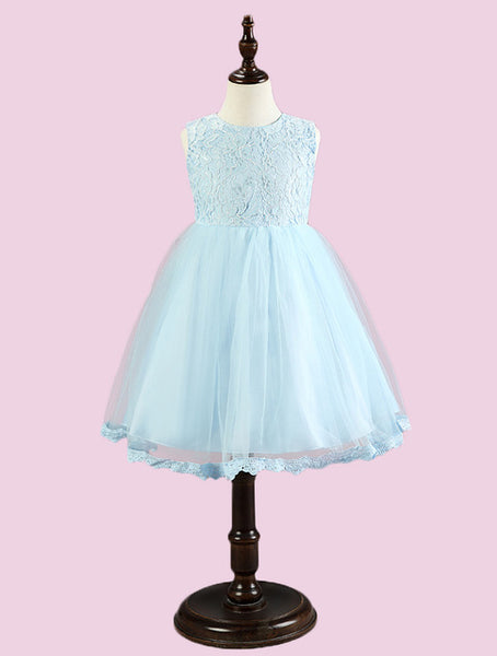 Newborn Baby Girl Wedding Birthday Christening Ball Gown Lace Tutu Dress