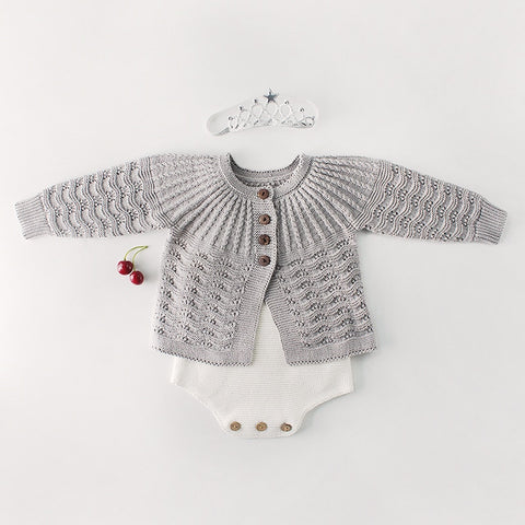 Princess Long Sleeve Knitted Top
