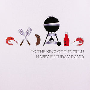 Personalised Male Birthday & Age Cards