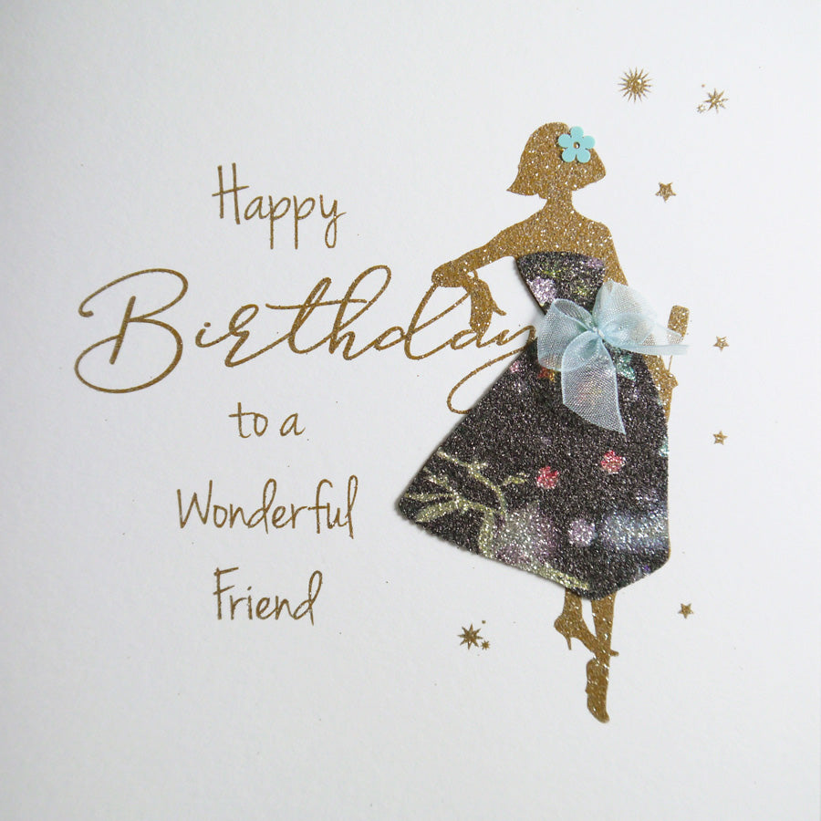 Five Dollar Shake Wonderful Friend Birthday Card