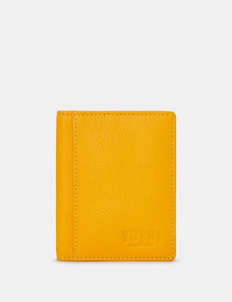 Yoshi Steinway Two Fold Card Holder - Mustard