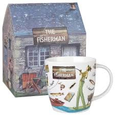 Churchill China At Your Leisure -The Fisherman Mug in Gift Box
