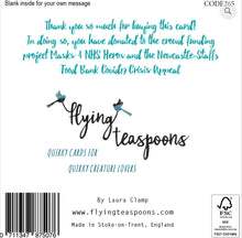 Flying Teaspoon Covid 19 Charity Card - You are doing Amazing