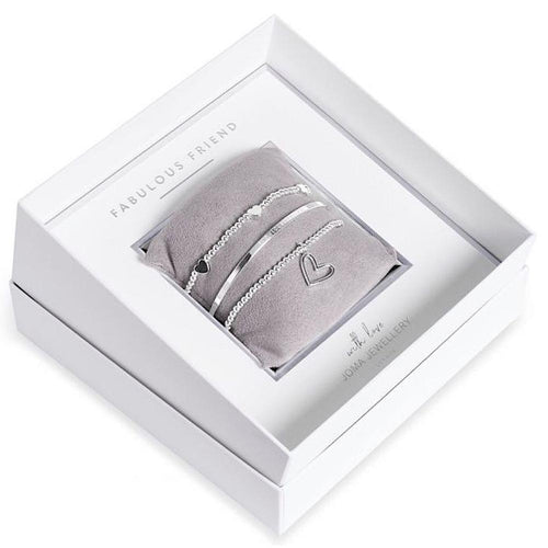 Joma Jewellery Fabulous Friend Bracelet Gift Box Set