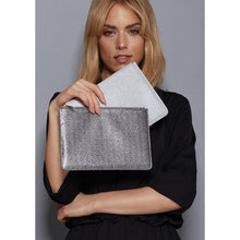 Katie Loxton Shimmer Pouch- Beautiful Daughter - Champagne