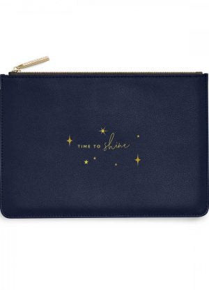 Katie Loxton Perfect Pouch- Time to Shine-  Navy