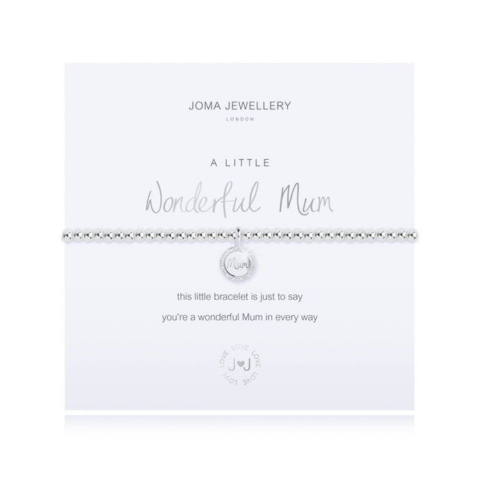 Joma Jewellery A Little Wonderful Mum Bracelet