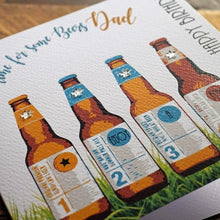 White Cotton Cards Time for Beers Dad Birthday Card