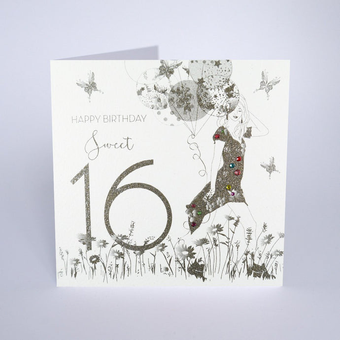 Five Dollar Shake Sweet 16 Birthday Girl Card