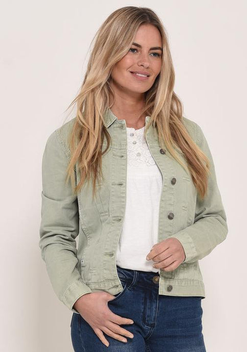 Brakeburn Pleat Jacket Seafoam Green