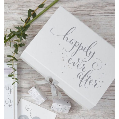Busy B Happily Ever After Wedding Keepsake Box