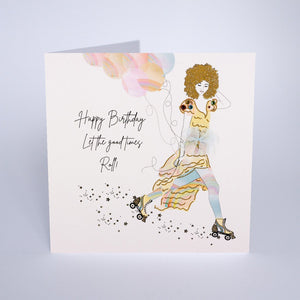 Five Dollar Shake Let the Good Times Roll Birthday Card