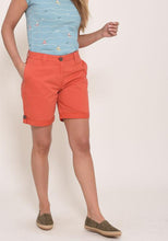 Brakeburn Turn Up Shorts Coral