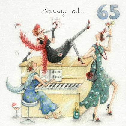 Berni Parker Sassy at 65 Card