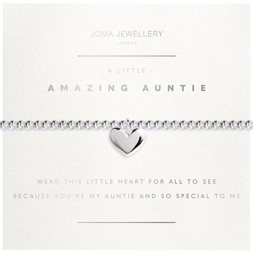 Joma Jewellery Facetted A Little Amazing Auntie Bracelet
