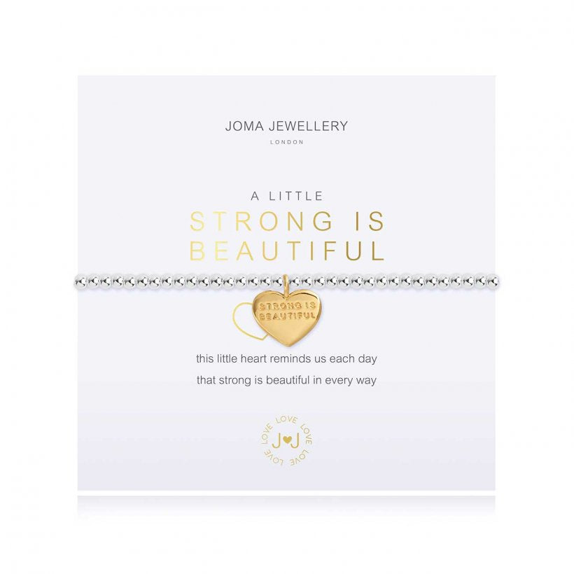 Joma Jewellery A Little Strong is Beautiful Bracelet