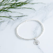 Chloe Tree of Life Charm Sterling Silver Bracelet