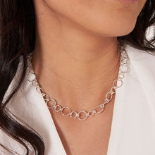 Joma Jewellery Lia Link Necklace Silver