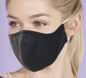 Eco Chic Reusable Face Covering - Black
