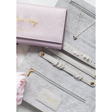 Katie Loxton Sparkle & Shine Jewellery Roll (Wrap)- Silver