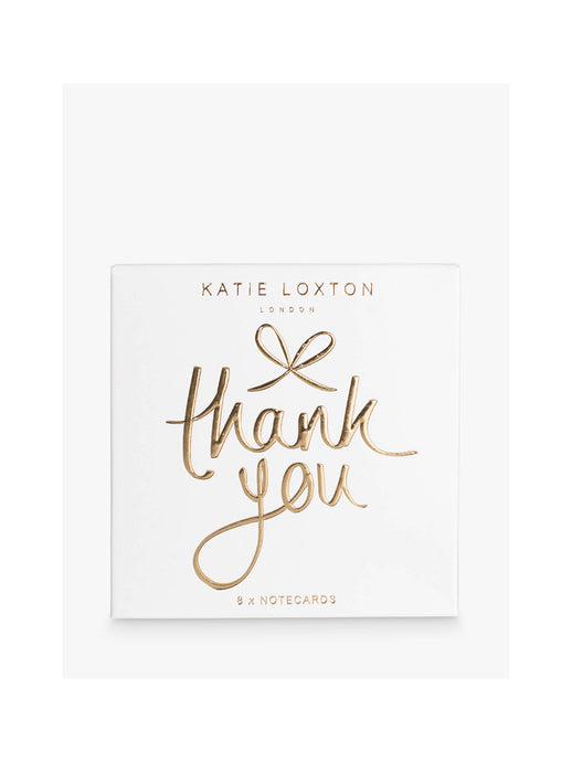 Katie Loxton Boxed Notecards - Thank You - Pack of 8