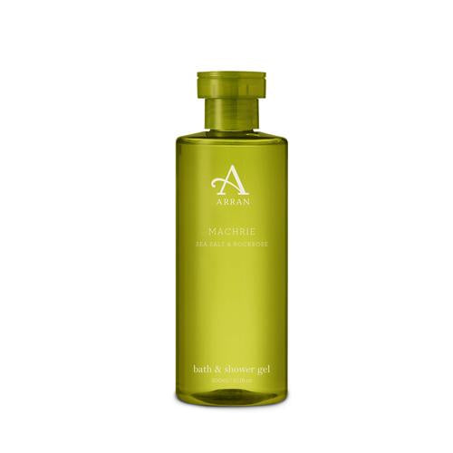 Arran Aromatics- Machrie Sea Salt & Rockrose - Bath & Shower Gel 300ml