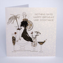 Five Dollar Shake Cocktails Birthday Card