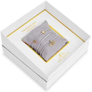Joma Jewellery Friendship Bracelet Occasion Gift Box Set