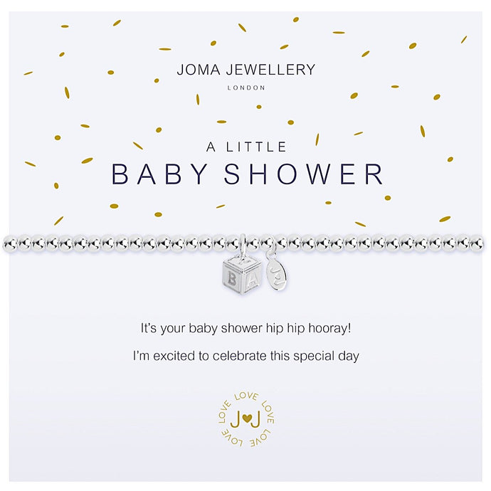 Joma Jewellery A Little Baby Shower Bracelet
