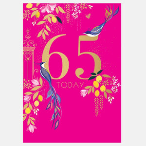 Sara Miller by The Art File - 65th Birthday Card