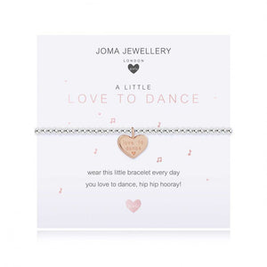 Joma Jewellery Girls A Little Love to Dance Bracelet
