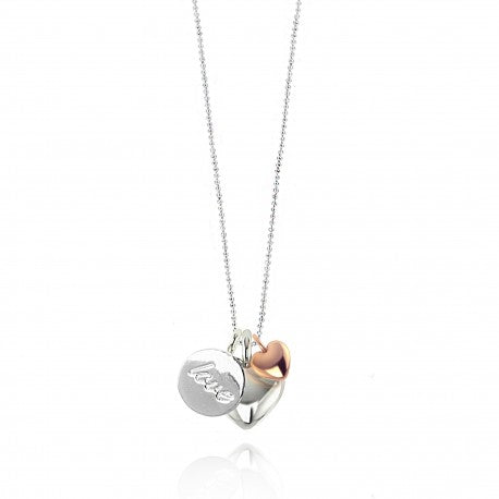 Joma Jewellery Oh So Charming Heart Long Necklace