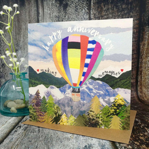 Flying Teaspoon Happy Anniversary Making Memories Card