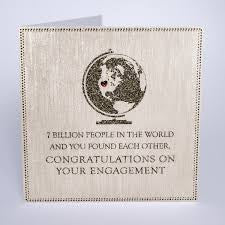 Five Dollar Shake 7 Billion People Engagement Card