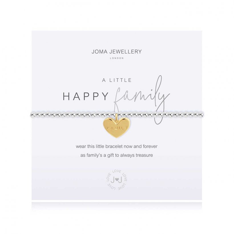 Joma Jewellery A Little Happy Family Bracelet - Stockist Exclusive