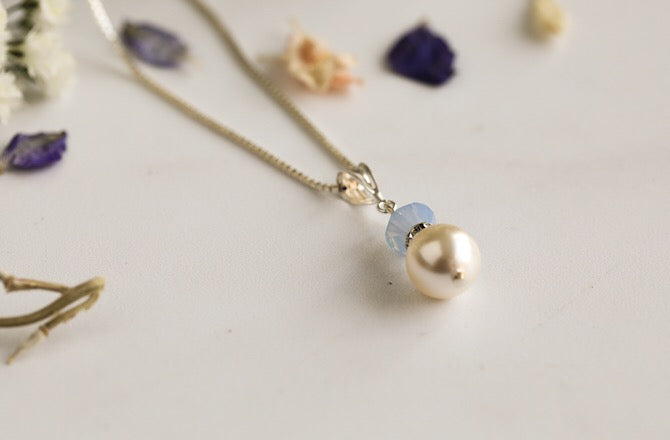 Millie Pendant -Air Opal Blue