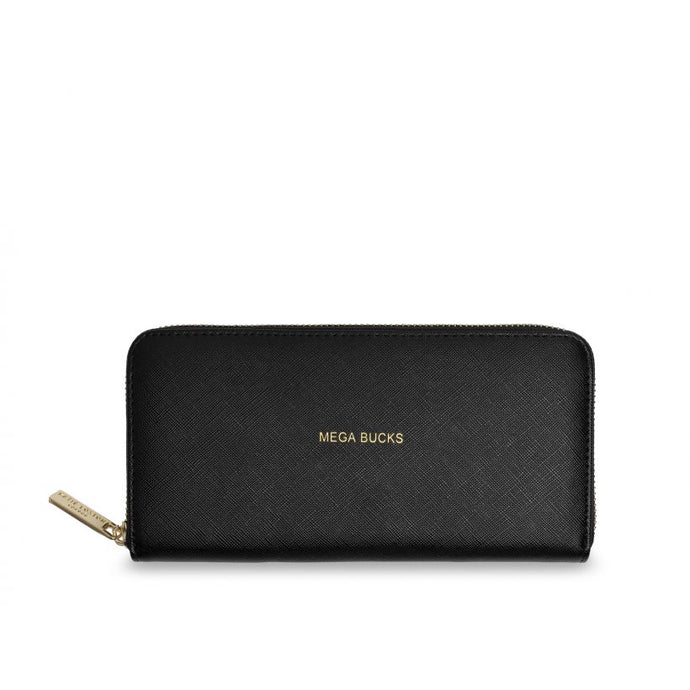 Katie Loxton Perfect Large Purse- Mega Bucks - Black